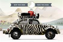 VW drives fans to Facebook game for 3rd gen Beetle push
