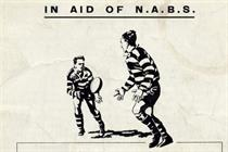 The history of advertising 13 - First poster for Nabs Rugby 7s