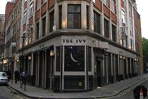 The history of advertising 1 - The Ivy restaurant