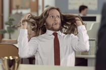 Campaign Viral Chart: Dove men let their hair down