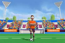 Sainsbury's launches blind football online challenge