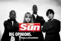 Sun ad banned for exhorting children