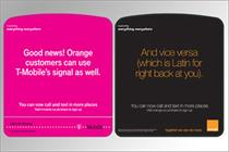 Orange and T-Mobile launch £4m shared ad campaign