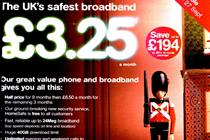 TalkTalk broadband ad banned after BT complaint