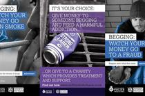Council's poster campaign banned for offensive depiction of beggars