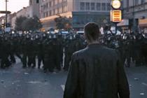 Levi's ad yanked over riot police scene