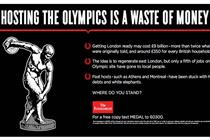 The Economist asks if hosting the Olympics is a waste of money