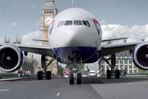 British Airways reviews global creative