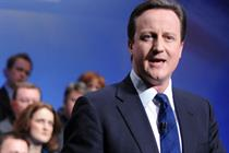 David Cameron places spotlight on Twitter