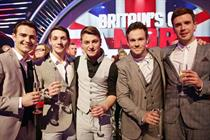 Operatic band Collabro help Britain's Got Talent final reach highs of 12.7 million