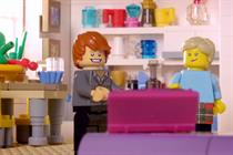 Lego breaks the mould in ad takeover