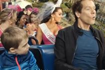 Kevin Bacon rides UK's biggest rollercoaster in EE spot