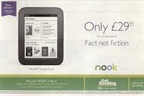 Nook promotion banned after stock ran out