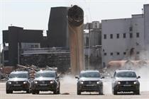 VW injects destruction into pick-up campaign