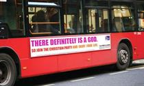 'There definitely is a God' ad most complained about in 2009