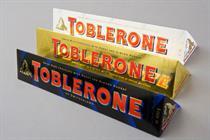 Kraft seeks agency for Toblerone work