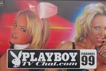 Playboy's 'cheeky' lorry forced off road by ad police