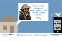 Homeless charity launches digital and outdoor campaign