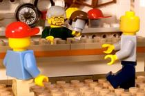 Lego calls creative review