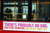 Christian bus driver refuses to drive 'atheist' ad bus