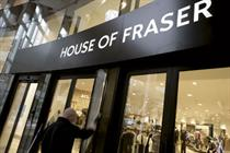 House of Fraser reviews £5m ad account