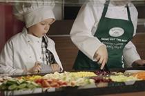 Harvester introduces 'junior chef' ads