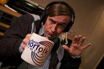 Alan Partridge returns in ad-funded Foster's activity