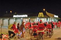 McDonald's opts for a pedal-powered festive push