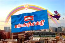 Muller kicks off £25m creative pitch