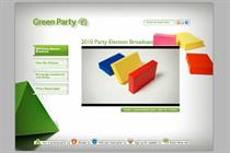 Green Party launches personalised party election broadcast