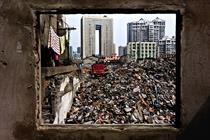 Graham Fink's photos find beauty in a 'wonderland' of rubbish