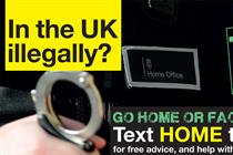 Home Office 'go home' ad banned