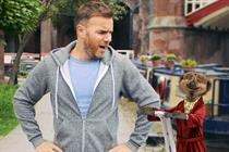 Gary Barlow meets the meerkats in Comparethemarket ad