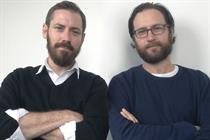 Mike Crowe and Rob Messeter  join AMV as creative partners
