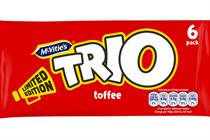 Trio chocolate bar brand to return with digital campaign