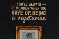 Gourmet Burger Kitchen sorry for 'offensive ads' mocking vegetarians