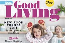 Hearst relaunches Asda magazine as Good Living