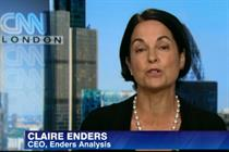Watch: Claire Enders on Time Warner/21st Century Fox