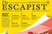 Monocle launches The Escapist annual edition