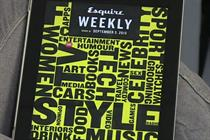 Hearst's leaders talk us through the Esquire Weekly iPad app