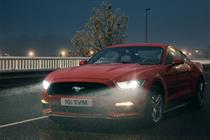Ford backs European Mustang launch with epic TV spot