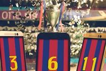 Phones score goals in HTC Champions League football videos