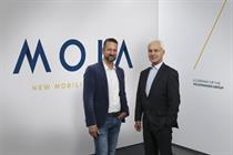 Volkswagen launches Moia brand to build on-demand transport