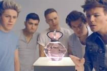 One Direction launches film to promote perfume