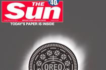 Oreo eclipses The Sun in celestial stunt