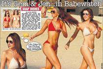 The Sun cuts topless models on Page 3