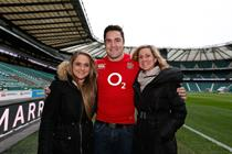 England rugby player fronts Marriott digital campaign