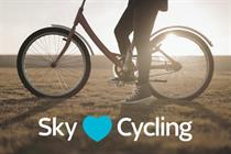 Sky launches multichannel campaign to hail its cycling credentials