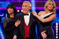 Bruce Forsyth's last dance helps Strictly beat X Factor