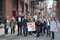 An Englishman (and 17 ad students) in New York